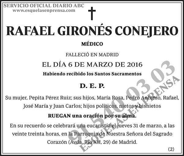 Rafael Gironés Conejero